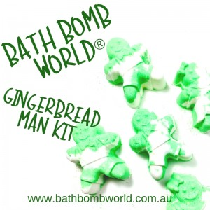 Bath Bomb World® Gingerbread Man Bath Bomb Kit